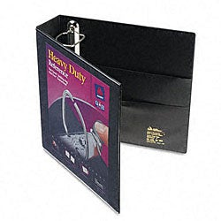 Black Avery Nonstick 2-inch Heavy-Duty EZD Reference View Binder
