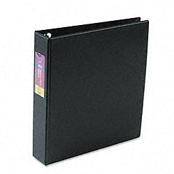 Avery Black 1.5-inch Heavy-duty Vinyl EZD Ring Reference Binder