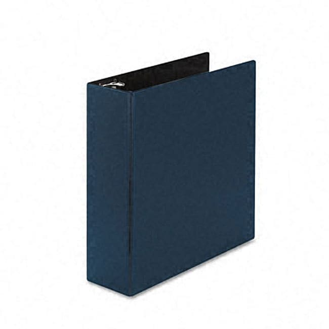shop avery durable 3 inch round ring blue reference binder free