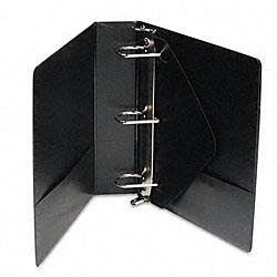 Wilson Jones Black 2-Inch D-Ring Vinyl View Binder