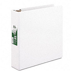 Samsill Antimicrobial 2-inch Round Ring View Binder