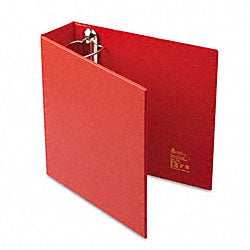 Avery 3-Inch Heavy-Duty Red Vinyl EZD Ring Reference Binder