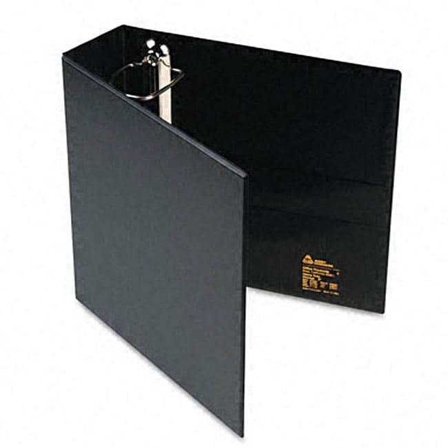 Shop Avery 3Inch HeavyDuty Black Vinyl EZDRing Reference Binder