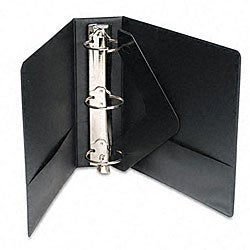 Basic Plus Black Three-Inch Locking View Binder