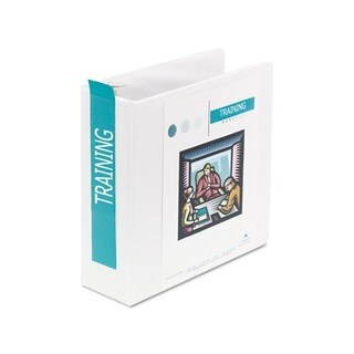 Wilson Jones 3-Inch D-Ring Locking Vinyl View Binder