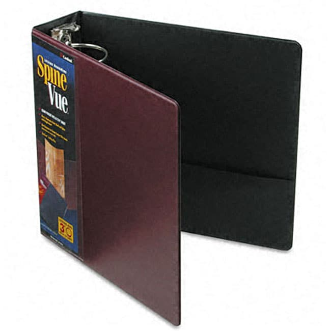 Shop Spinevue 3 Inch Locking Ring Maroon View Binder