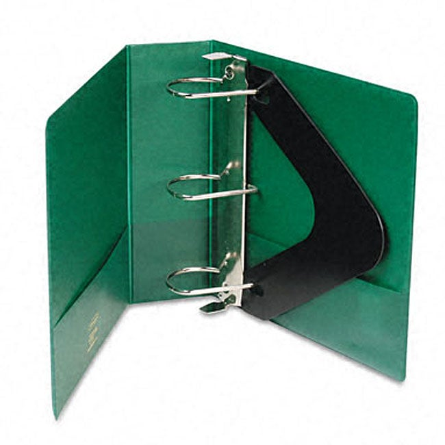 Heavy-Duty 3-inch D-Ring Binder With Label Holder