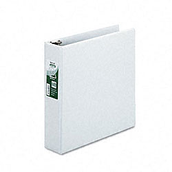 Samsill Antimicrobial 2-inch D-ring View Binder