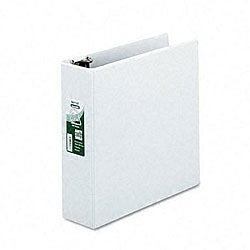 Samsill Antimicrobial 3-inch D-Ring View Binder
