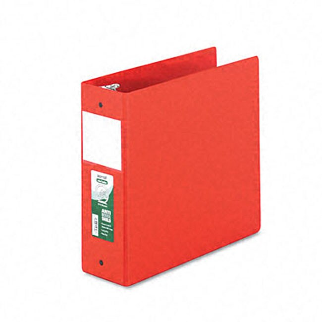 Samsill Antimicrobial 4-inch Round-ring Binder