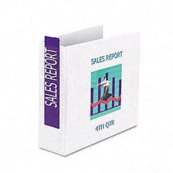 Samsill Non-Stick 4-inch D-ring View Binder