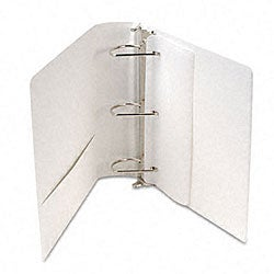 Samsill Top Performance 3-Inch DXL Insertable Angle-D Binder in White