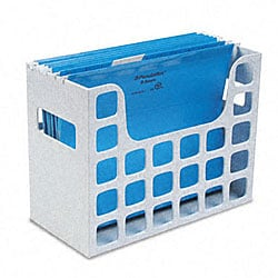 decoflex hanging folder file storage container - Hanging File Box