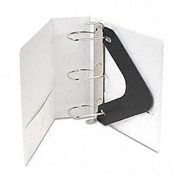 Wilson Jones 4-Inch D-Ring Vinyl View Binder with Pockets