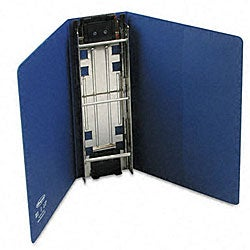 Large-Capacity Blue Hanging-Post Binder