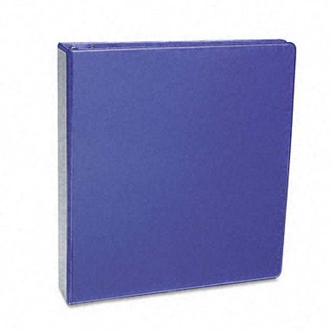 Samsill Antimicrobial 1-Inch Purple Presentation View Binder
