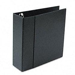 Avery 4-inch Heavy-duty Vinyl EZD Ring Black Reference Binder