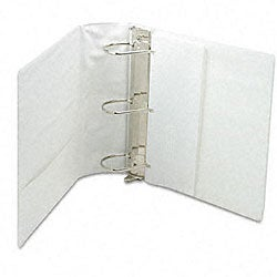 Samsill Top Performance White 4-Inch DXL Insertable Angle-D Binder