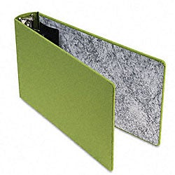 Green Canvas 2-inch Legal 3-ring Binder