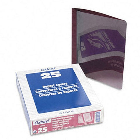 Clear Front Report Covers (25 per Box)
