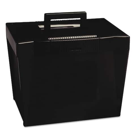 Portable Letter-size Hanging File Box
