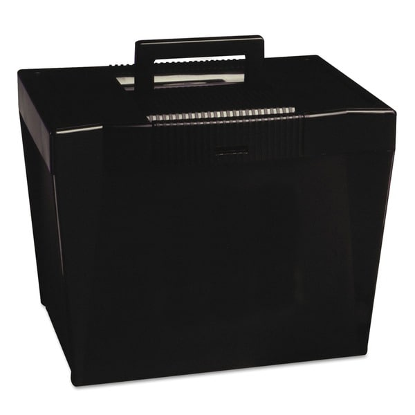 shop portable letter size hanging file box free shipping on orders over 45. Black Bedroom Furniture Sets. Home Design Ideas