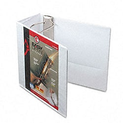 Recycled ClearVue 5-inch EasyOpen D-Ring Presentation Binder