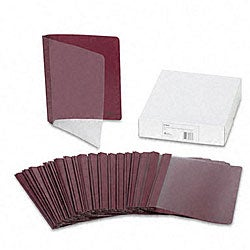 Coated Avery Durable Clear Front Report Covers (25 per Box)
