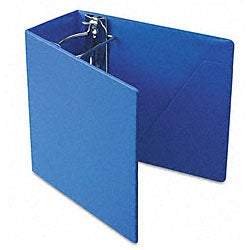 Recycled Heavy-Weight Blue 5-Inch Slant-D Ring Binder