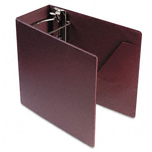 shop recycled heavy weight maroon 5 inch slant d ring binder free