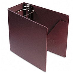 Recycled Heavy-Weight Maroon 5-Inch Slant-D Ring Binder
