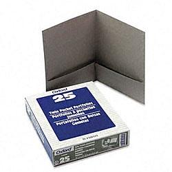 Linen Twin Pocket Portfolios (25 per Box)