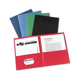 Avery Two-Pocket Portfolios (Case of 25)