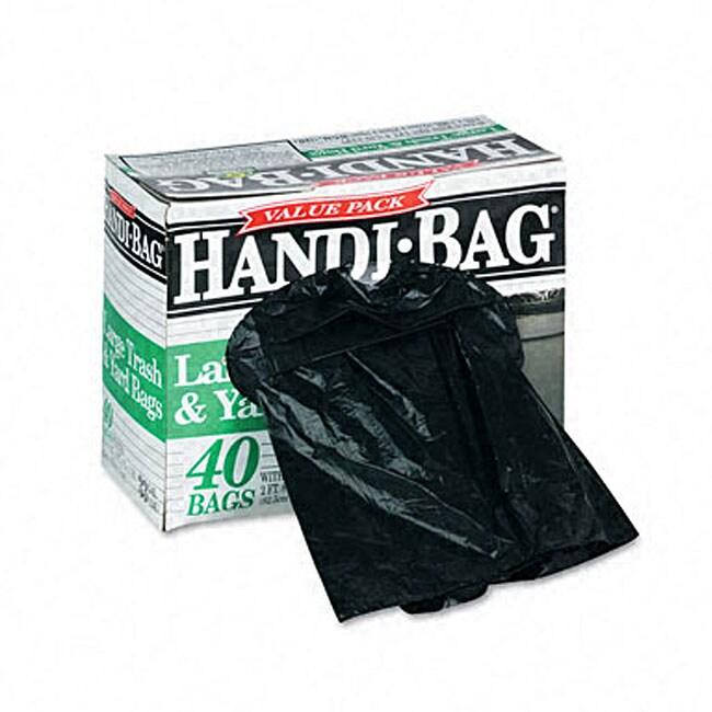 Webster Industries Handi-Bag 33-gallon Super Value Packs ...