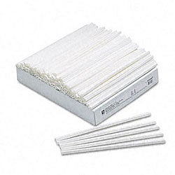 White Slide-n-Grip Binding Bars for Report Covers (100 per Box)