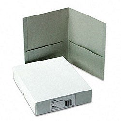 Avery Gray Two-Pocket Portfolios (25 per Box)