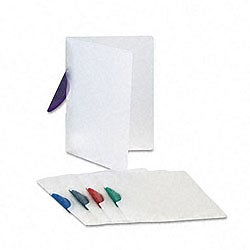 Gate-Lock Letter Size Report Covers (Pack of 25)