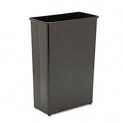 Rectangular Fire-Safe Steel Wastebasket - 22 Gallon