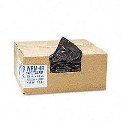 Opaque 56-gallon Heavy Grade Classic Can Liners (Case of 100)
