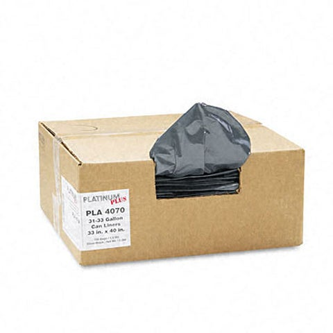 Platinum Plus 31-33 Gallon Can Liners (Case of 100)