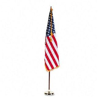 U.S Flag and Staff Set