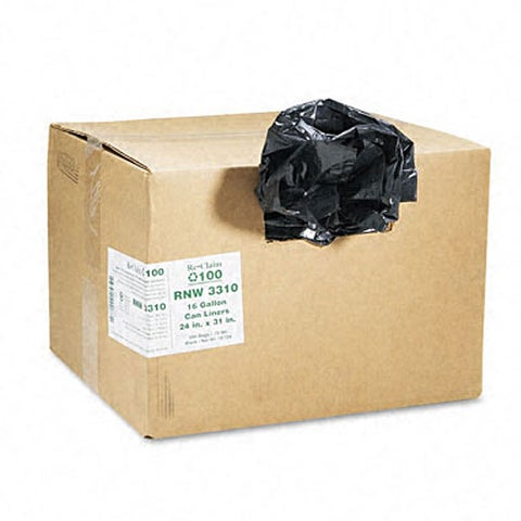 Re-Claim 16-gallon Heavy Grade Can Liners (Case of 500)