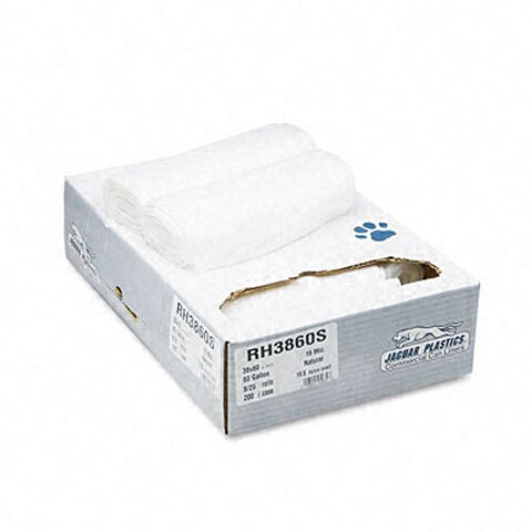 Industrial Strength 60-gallon Commercial Can Liners (Case of 200)