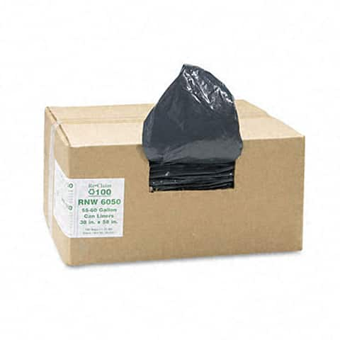 Re-Claim 55-60-gallon Can Liners (Case of 100)