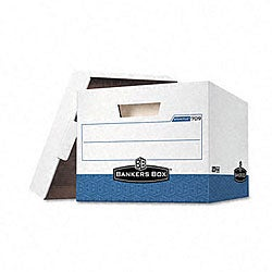 Fellowes Stor/File Storage Boxes with Lift-Off Lid (Pack of 12)