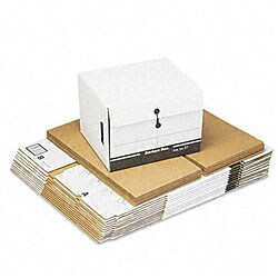 Fellowes Recycled Storage File for End Tab Files (Pack of 12)