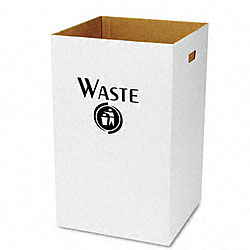 Corrugated Waste Receptacle - 40 Gallon (12 Count)