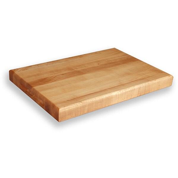 Gourmet Butcher Block Maple Edge Grain Cutting Board (18'' x 12'')