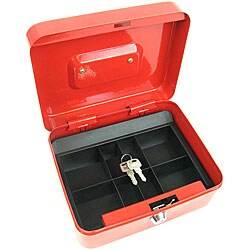 Locking Coin Tray Cash Box