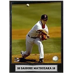 Daisuke Matsuzaka 9x12 Baseball Photo Plaque